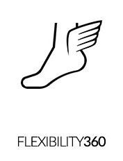 Flexibilidade 360 °