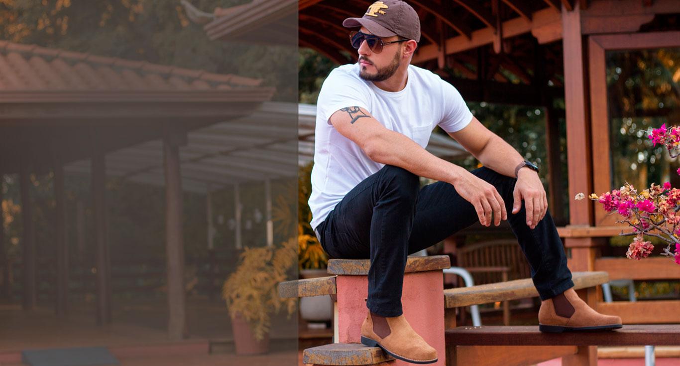 couro legitimo calçado masculino qualidade