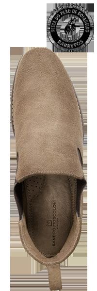 bota botina masculina country chelsea barretos sandro moscoloni