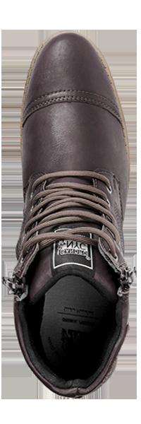 calçado com materiais de alta qualidade