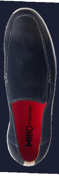 Manson Navy Loafer