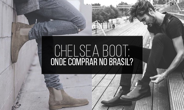 Chelsea Boot Masculina, Onde Encontrar no Brasil?